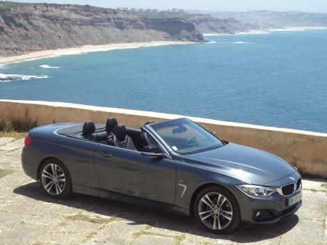 BMW 420d Cabrio Line Sport (Fotos: Forte de Paimogo, Areia Branca)