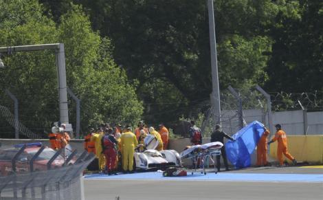 Por causa do seu acidente nos treinos livres Loïc Duval não vai correr em Le Mans