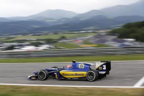 Felipe Nasr dominou  corrida Feature no Red Bull Ring