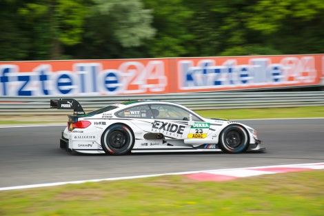Marco Wittmann bisou o triunfo no DTM agora no Hungaroring