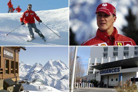 Quase seis meses depois do seu acidente de esqui Schumacher terá já deixado o hospital