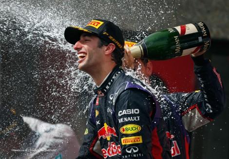 Daniel Riciardo conquistou a sua primeira vitória n F1 no Canadá