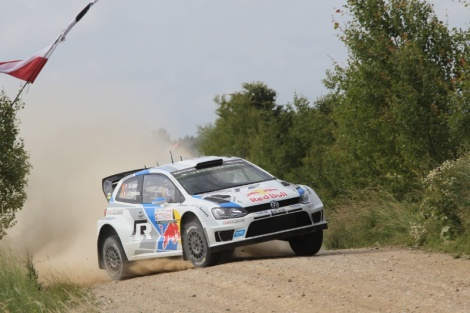 Sébastien Ogier voltou a vencer, agora na Polónia