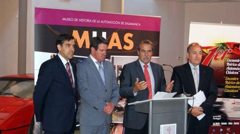 O I Encontro Ibérico de Automóveis Cl´ssicos foi apresentado em Salamanca