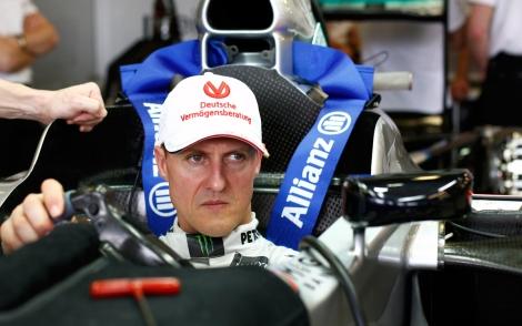 O relatório clínico de Schumacher terá sido roubado na Suíça