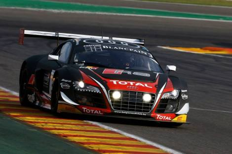A Audi venceu as 24 Horas de Spa com este R8 LMS Ultra