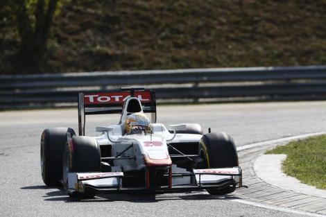 Arthur Pic estreou-se a vencer na GP2 em Hungaroring