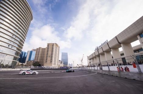 Baku já foi palco de uma corrida do FIA GT em 2012