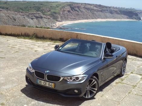 O BMW 420d Cabrio é a entrada da gama e único Diesel para já no mercado