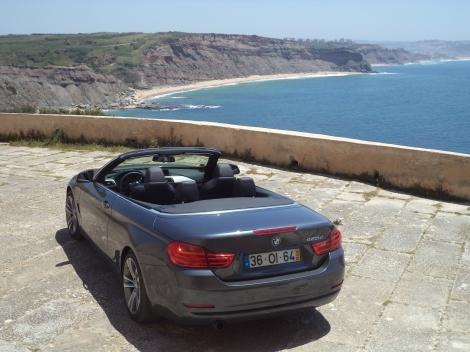 Visto seja de que ângulo for, o Série 4 Cabrio é um dos descapotáveis mais belos
