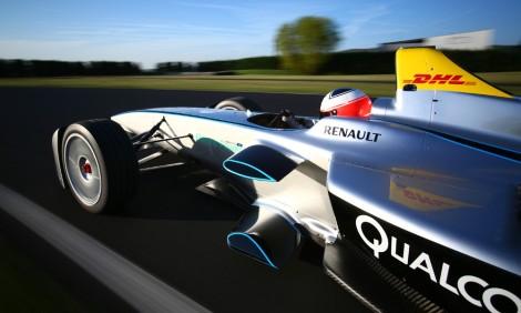 Doninton foi palco dos primeiros testes conjuntos de Fórmula E