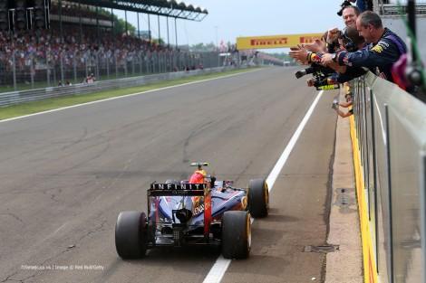 Daniel Ricciardo conquistou na Hungria a sua segunda vitória na F1