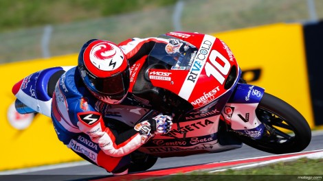 Alexis Masbou venceu pela primeira vez nas Moto3