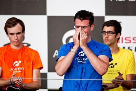 Gaetan Paletou venceu a GT Academy europeia este ano