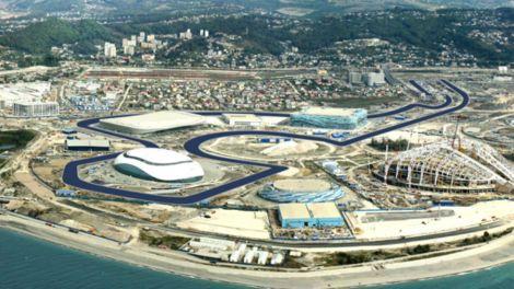 A pista de Sochi foi aprovada pela FIA e já pode receber a F1 em Outubro