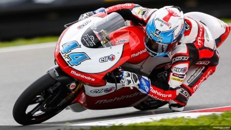 Miguel Oliveira vai partir do 5º lugar da grelha de Moto3 em Brno