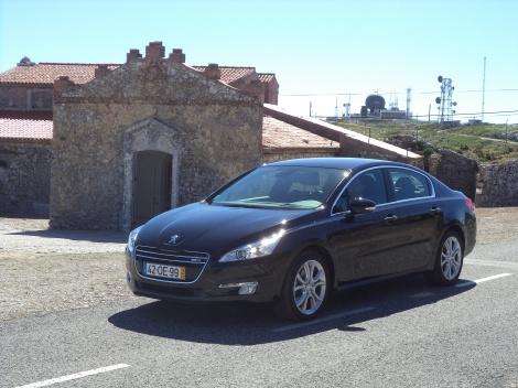 Peugeot 508 Berlina 2.0 BlueHDi 150 Allure (Fotos: Serra de Montejunto)