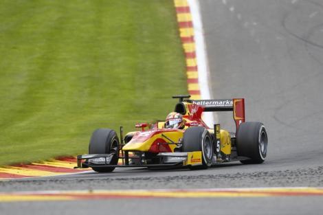 Raffaelle Marciello venceu pela primeira vez na GP2 em Spa