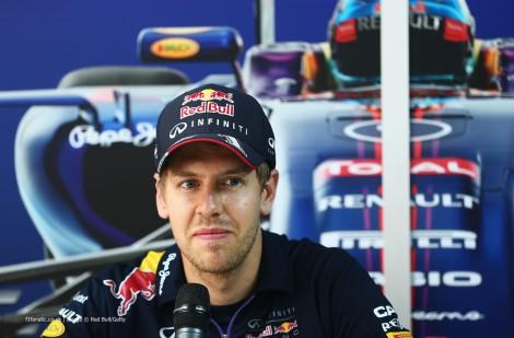 "Horner disse que Vettel perdeu o ""feeling"" do carro"