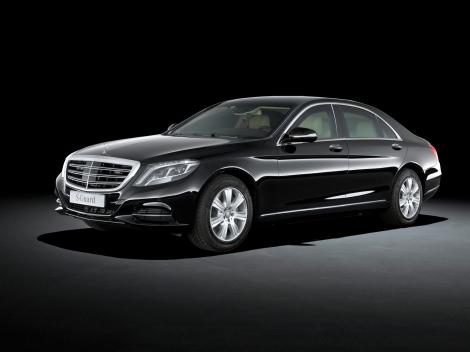 A Mercedes-Benz atualizou o S 600 Guard