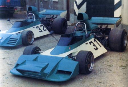 A Scuderia Finotto correu na F1 em 1974 mas sem Martino ao volante