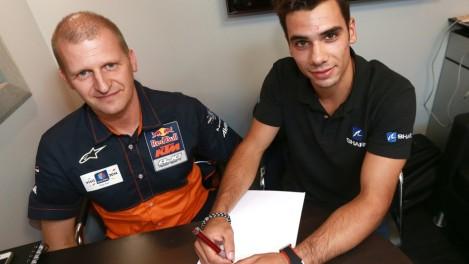 Miguel Oliveira já assinou com a Red Bull KTM Ajo