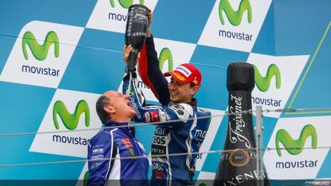 Jorge Lorenzo venceu pela primeira vez este ano em Aragón