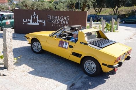No domingo a caravana visitou as Fidalgas de Santar