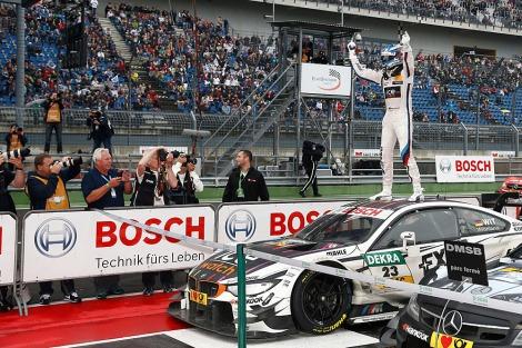 Marco Wittmann garantiu o título no DTM a duas provas do fim