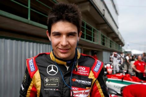 Esteban Ocon vai estrear-se na FR 3.5 V6 no Hungaroring