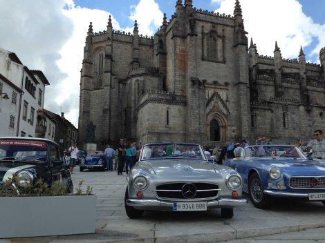 A chegada do Encontro Ibérico foi na Guarda junto à catedral
