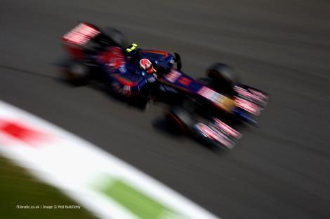 Daniil Kvyat perdeu o 10º lugar na última volta