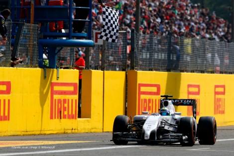 Felipe Massa conquistou o seu primeiro pódio com  Williams