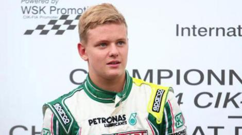 Mick Schumacher quer seguir as pisadas do pai