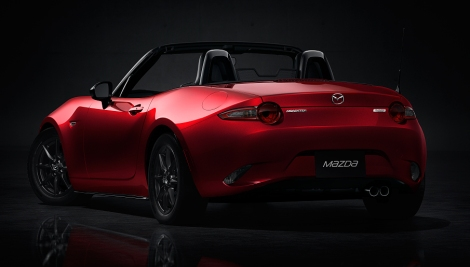 O novo Mazda MX-5 será lançado no mercado em 2015
