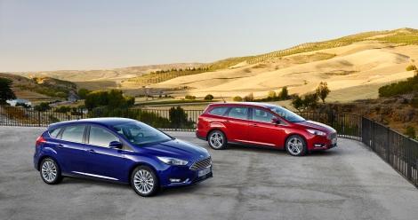 O novo Ford Focus vai estar à venda a partir de Novembro