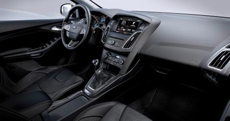 O interior é muito mais moderno e intuitivo