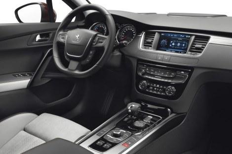 A qualidade impera no interior do novo Peugeot 508