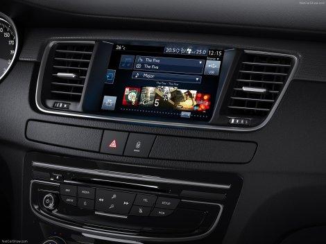 O novo Peugeot 508 oferece ainda mais conteúdo tecnológico