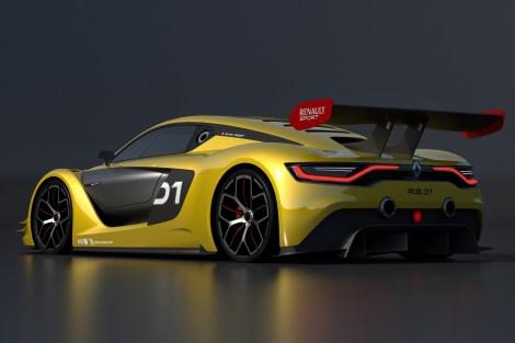 O motor do Renault Sport R.S. 01 tem mais de 500 cv