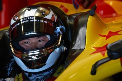 Adderly Fong é um dos jovens pilotos que a Sauber vai testar em Valéncia