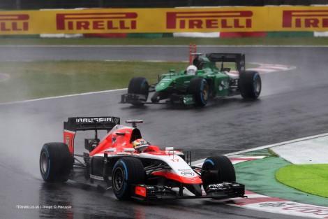 A Marussia nega ter dado instruções a Bianchi para não abrandar