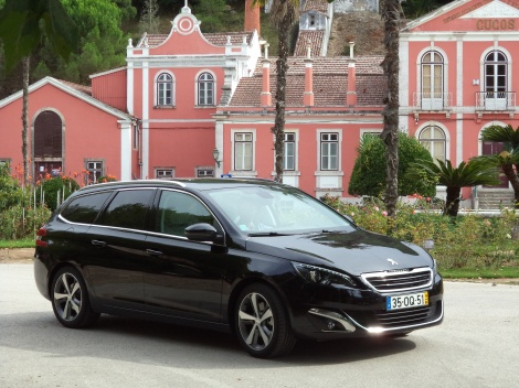 Peugeot 308 SW 2.0 BlueHDi 150 cv Allure CVM6 (Fotos: Termas dos Cucos, Torres Vedras)