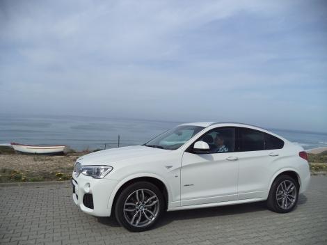 """A BMW define o caráter do X4 como """"impulsivo"""""""