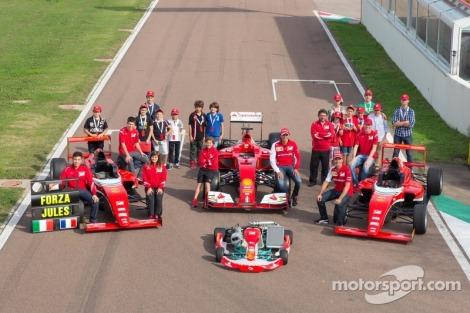 A Ferrari Driver Academy vai ter novos pilotos este anos
