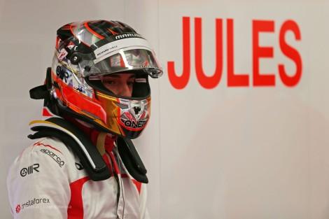 A Marussia vai correr só com um carro em Sochi como homenagem a Bianchi