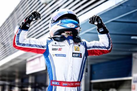 Nyck de Vries vai correr em 2015 com a DAMS na FR 3.5 V6