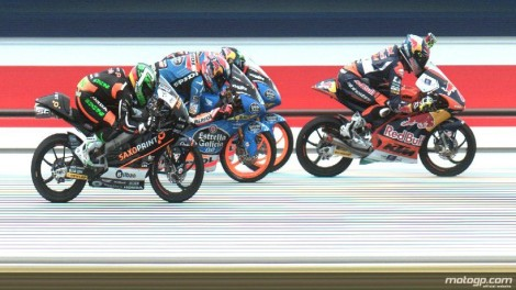 "Jack Miller ganhou ao ""photo finish"" nas Moto3"