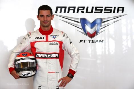 Alexander Rossi deverá estrear-se na F1 com a Marussia em Sochi