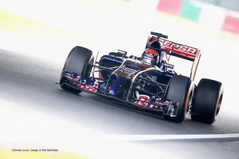 Verstappen fez 22 voltas e foi o 12º mais rápido nos primeiros treinos livres